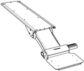 Humanscale 6G Keyboard Tray Arm