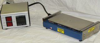 HP-408-P Industrial Laboratory Hot Plate  Heated Area 4  in x 8 in