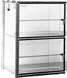 Two Door 18x18x22 Static Dissipative Plenum Wall Desiccator Cabinet