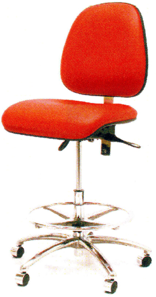 Gibo Kodama Class 100 Synchron C4400 Series High Bench Height Chair