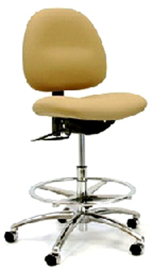Gibo Kodama ESD Class 100 Stamina 3400 Cleanroom Low Bench Chair