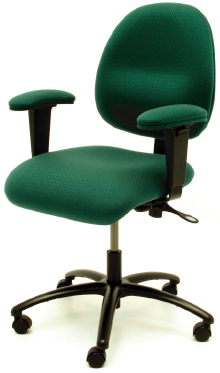 Gibo Kodama ESD Class 100 Synchron 4000 Series Desk Height Chair