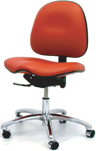 Gibo Kodama ESD Class 100 Stamina 7000 Series Saddle Seat Desk Height Chair