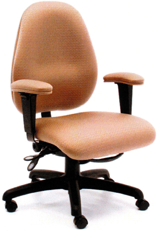 Gibo Kodama CORONADO Elite Managers Multi-Function Office Chair Low Seat