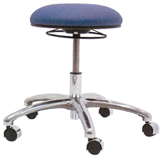 Gibo Kodama ESD Non-Cleanroom E1300PL Medium Bench Height Stools