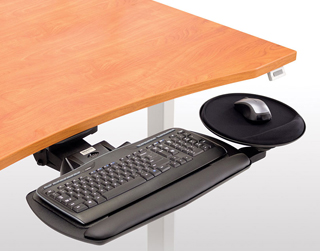 Workrite Fundamentals AKP02 Complete Keyboard System