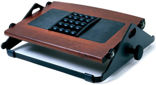 Humanscale Foot Machine Dark Cherry with Massage Balls FM300BDC