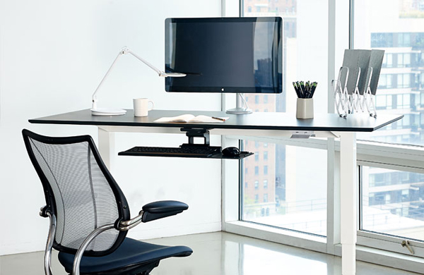 Humanscale Float Height Adjustable Sit-Stand Table