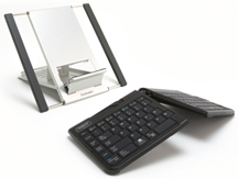 Goldtouch Go!2 Mobile Keyboard and Notebook Stand Bundle