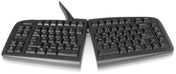 Goldtouch V2 Adjustable Comfort Keyboard | PC and Mac (USB)