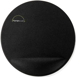 Humanscale 10 inch Mouse Pad with Gel Palm