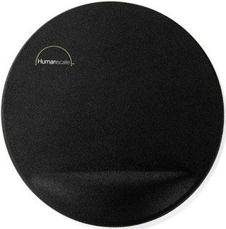Humanscale 8.5 inch Mouse Pad with Gel Palm