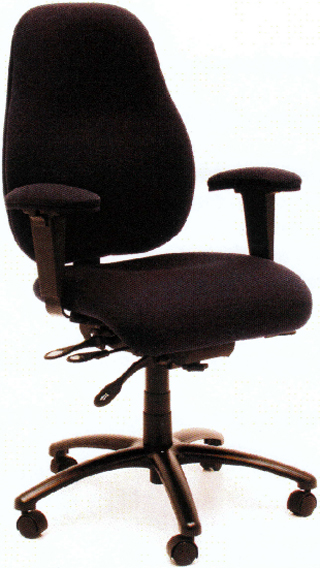 Gibo Kodama RESPON Executive Chair Desk Height Extra High Back
