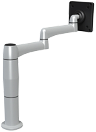 SpaceCo SP01X4 Stubby Plus Monitor Arm  4 Inch Extension