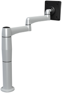 SpaceCo SP01X6 Stubby Plus Monitor Arm  6 Inch Extension
