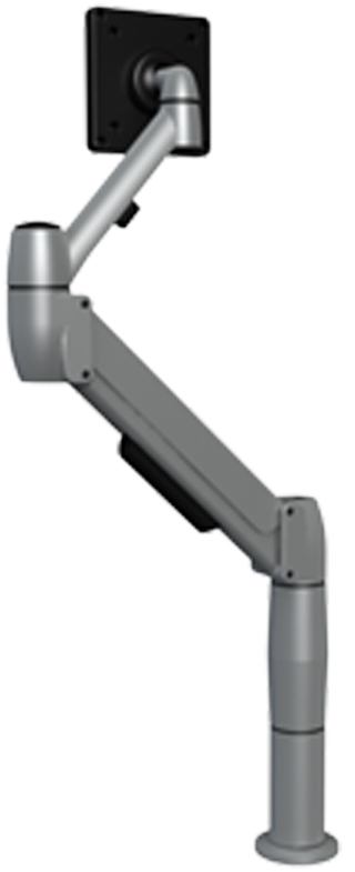 SpaceCo SS01X4 SpaceArm Monitor Arm 4 Inch Extention