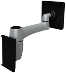 SpaceCo ST01VM Stubby Monitor Arm Slatwall 1 Mount