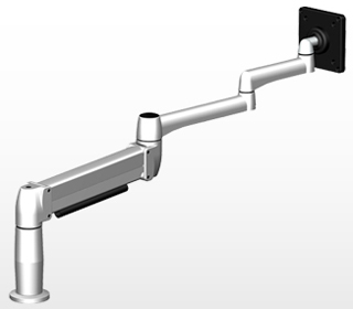 SpaceCo SX01XP SpaceArm Long Extended Monitor Arm