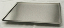 1/2  inch Deep Stainless Steel Trays