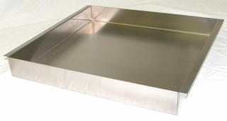 2  inch Deep Stainless Steel Trays