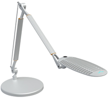 SpaceCo WL02DB WaveLight Desk Base LED Task Light