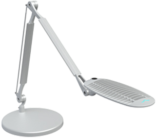 SpaceCo WL22DB Short Wave Light 2 Desk Base LED Task Light