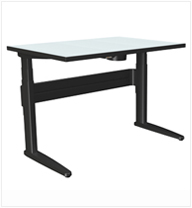 SpaceCo Height Adjustable Tables