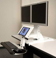 Weber Knapp UpRight Dual Sit to Stand Desk Mechanism
