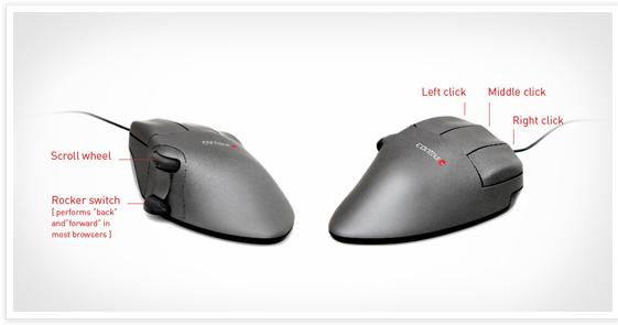 Contour Design Contour Mouse Specs
