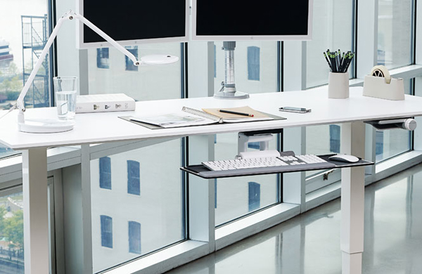 Humanscale Float Height Adjustable Sit Stand Table